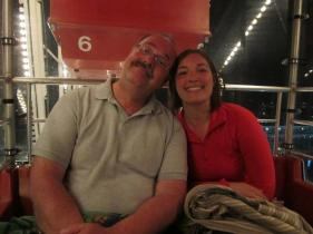 My Dad and I at Navy Pier