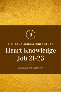 Link to a Bible Study Blog Post #6 - Heart Knowledge