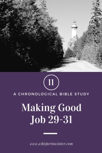 Link to a Bible Study Blog Post #11 - Making Good