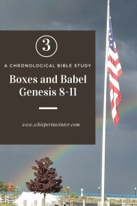 Link to a Bible Study Blog Post - Boxes and Babel