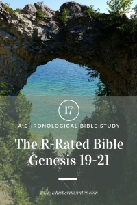 Link to a Bible Study Blog Post #17 - The R-Rated Bible