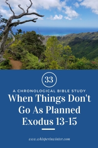 Link to a Bible Study Blog Post #33 - When Things Don't Go As Planned