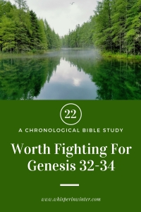 Link to a Bible Study Blog Post #22 - Worth Fighting For