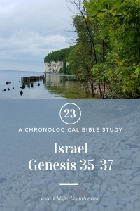 Link to a Bible Study Blog Post #23 - Israel