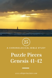 Link to a Bible Study Blog Post #25 - Puzzle Pieces
