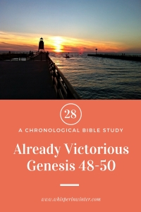 Link to a Bible Study Blog Post #28 - Already Victorious